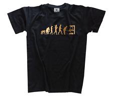BRONZE Edition Glockengießer Glockenspiel Glocke Evolution T-Shirt S-XXXL