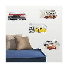 CARS 3 RACING Wall Decals Lightning McQueen Cruz Ramirez Room Decor Stickers 95