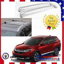 For 2017 Honda CRV Roof Rack Cross Bar OE Factory Style Bars Silver Mount Bolt