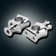 """2x 1"""" Handlebar Risers For Honda VTX 1300 C R S RETRO VTX1800 VT700 Cruiser"""