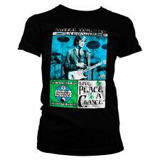 Officially Licensed John Lennon - Toronto Peace Festival Women's T-Shirt S-XXL