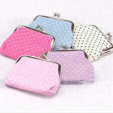 Precision Women Candy Dots Wallet Change Purse Key/Coins Mini Small Handbag M&O