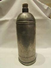 ancienne gourde bouteille en etain clair perrault n° 1 epoque fin 19 eme