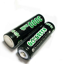 10 AA 2A Ni-MH 3000mAh Rechargeable Battery Cell GO M1