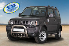 Suzuki Jimny 2005-2012 CE APPROVED BULL BAR PUSH BAR GRILL GUARD WITH AXLE GRILL