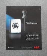 [GCG] K186- Advertising Pubblicità -1999- AEG LAVALOGIC