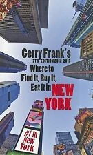 Gerry Frank's Where to Find It, Buy It, Eat It in New York-ExLibrary