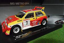 MG METRO 6R4 #7 RALLYE DES GARRIGUES 1986 Auriol au 1/18 SUNSTAR 5532 Sun Star