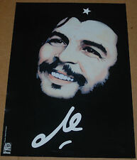 Political OSPAAAL Graphic Solidarity cuban POSTER.Che Guevara Smiling.Revolution