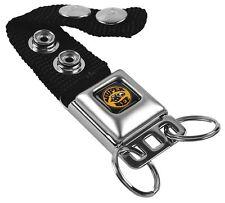 Key Chain Ring Car Lanyard Holder SUPER BEE Logo Black Yellow White Genuine