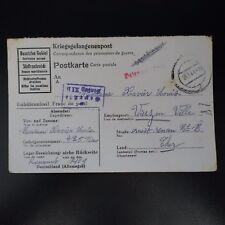 LETTRE PRISONNIER DE GUERRE STALAG XI B -> VIERZON KRIEGSGEFANGENENPOST POW