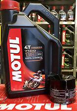 Servicesatz 4l Motul 7100 10W60 Ölfilter 156 für motorrad KTM LC4 640 cc