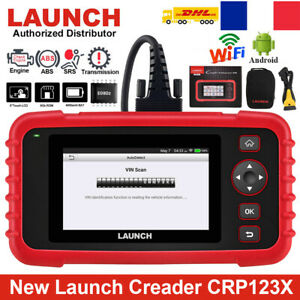 LAUNCH CRP123X OBD2 Scanner Valise appareil Diagnostic Updated New Version