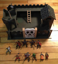 "Medieval Toy wooden castle  19"" x 17""  x 12"""