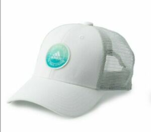 NWT Adidas Women Notion Cap - Climalite Snapback - White - Free Shipping