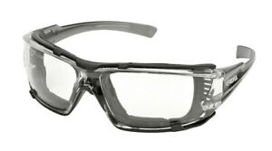 Delta Plus Go Specs IV Clear Anti Fog Safety Glasses EVA Foam Padded Z87+
