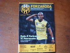 Roda JC V SC Heerenveen déc 2017