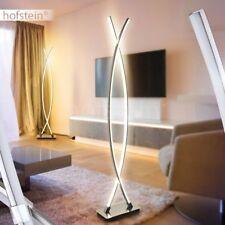 Wohn Schlaf Zimmer Beleuchtung schwarz//silber Boden Stand Steh Lampen Leuchten