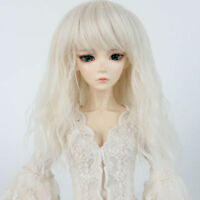 """7-8"""" Hair Wig 1/4 BJD MSD SD BJD Doll Super Dollfie Wig Curly hair"""