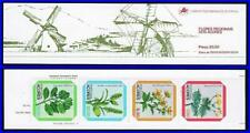 FLOWERS AZORES COMPLETE 1981 BOOKLET STRIP OF 4 MNH