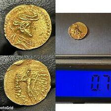 More details for ancient greek solid gold coin 24 carat 0.7 grams 11mm