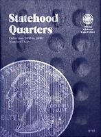 Whitman Statehood Quarters Coin Folder Book #3 2006-2009 #8112