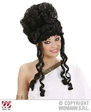 Black Curly Beehive Wig Amy Winehouse Pop Star Glamour Fancy Dress