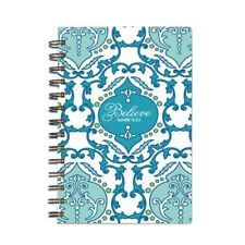 MARY SQUARE SCRIPTURE ART JOURNAL SAVANNAH BLUE BLANK PAGES DIARY RELIGIOUS GIFT