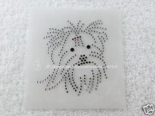 Hotfix Bügelbild Dog Hund Yorkshire Yorki Strass 130501-B Karostonebox