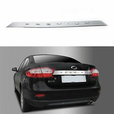 Chrome Trunk Lid Handle Garnish Molding Trim Cover for 10+ Renault Fluence SM3
