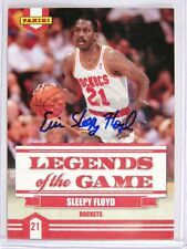 09-10 Panini Legends of Game Sleepy Floyd auto autograph *28647