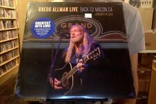 Gregg Allman Live: Back to Macon, GA 2xLP sealed vinyl + mp3 download