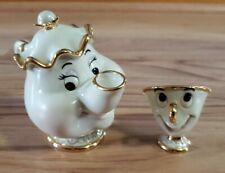 New listing Lenox Disney Mrs. Potts and Chip Excellent Condition