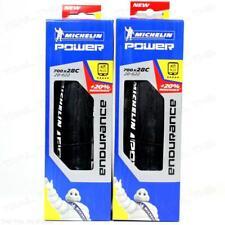 Two (2) Pack Michelin Power Endurance 700x28 Road Clincher Folding Bike Tires