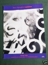DUSTY SPRINGFIELD - MAGAZINE CLIPPING / CUTTING- 1 PAGE ADVERT