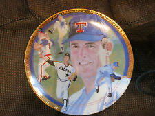 Hamilton Collection Nolan Ryan Plate - The Strikeout Express