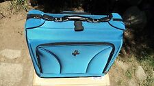Atlantic 3280742 Lt. Blue Wheeled Carry-On Garment Bag