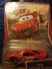 Disney Pixar Cars Movie Lightning McQueen Tongue Supercharged Die Cast Toy Car