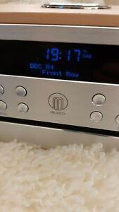 Majority Oakington DAB+Stereo Radio, CD Player With Bluetooth Connectivity. Vgc