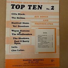 songbook SHAPIRO BERNSTEIN's Top Ten No 2