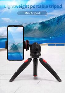Jmary Mini Tripod Stand Holder For Mobile Phone/ GoPro/ Camera/ DV-Black