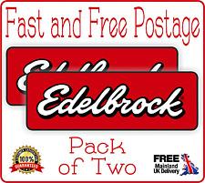 Calcomanía de carreras Carburador Edelbrock herramienta caja del coche de Carreras Pegatinas Super Bike Rally
