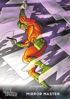 MIRROR MASTER / DC Comics Super-Villains (Cryptozoic 2015) BASE Trading Card #42