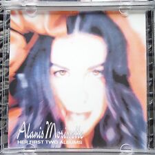 "Alanis Morissette ""Her First Two Albums"" Bong Records-Pro Sourced Silver Disc!"