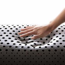 Malouf Shoulder Bamboo Charcoal Memory Foam Pillow King Size Shoulder Cut