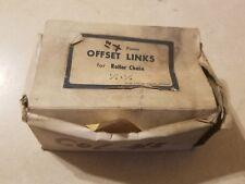 Silver Streak 410 Offset Links for Roller Chain Box of 12 1E-2160-C4