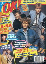 OK 580 (23/2/87) A-HA BERLIN PAUL YOUNG MADONNA