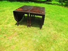CLASSICAL 2 PART drop leaf BANQUET - DINING TABLE w/ center DELIVERY AVAILABLE