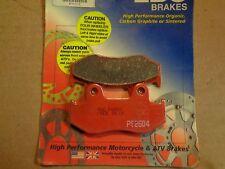 Non-Metallic Organic NAO Brake Pads Set KMG Front Brake Pads for 1986-1987 Honda CMX 450 C Rebel