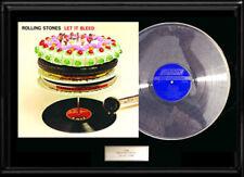 THE ROLLING STONES  LET IT BLEED  ALBUM FRAMED LP  VINYL RECORD RARE NO REPROS!